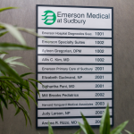 A directory lisitng of Emerson Primary Care of Sudbry.